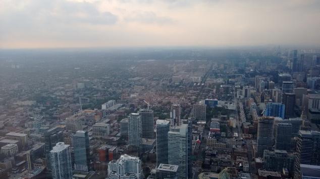 Toronto vista da CN Tower